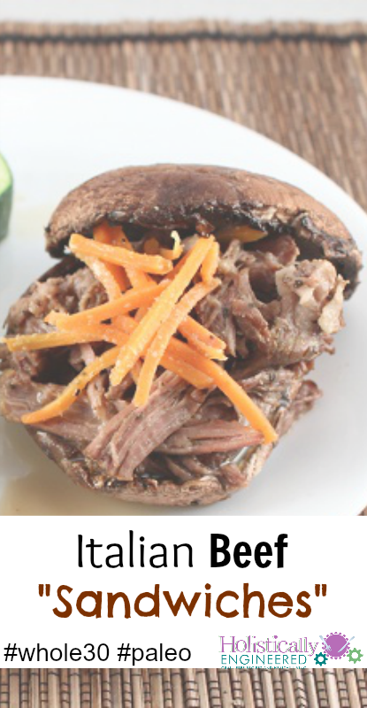 Italian Beef Sandwiches #whole30 #paleo