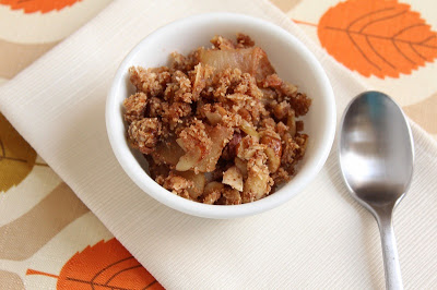 "Low Carb ""Apple"" Crisp (Gluten Free and Dairy Free)"