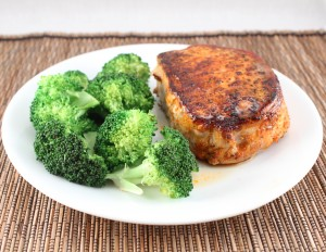 Whole30-Day 4 and Blackened Pork Chops