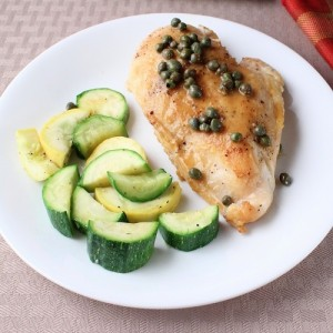 Chicken Piccata (Low Carb and Gluten Free)