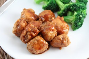 Chicken Teriyaki Meatballs (paleo and low carb)