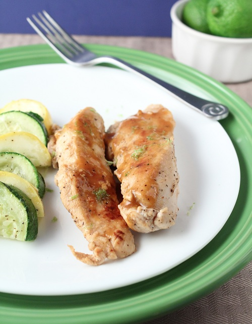 Coconut Lime Chicken (Low Carb and Gluten Free)
