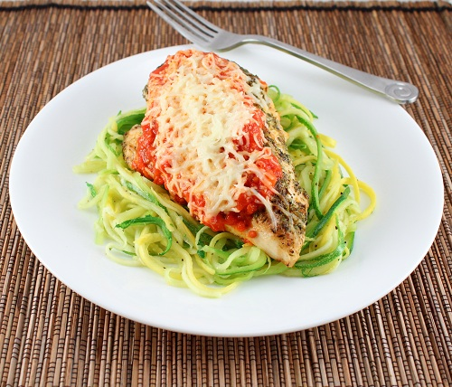 Grilled Chicken Parmesan (Low Carb and Gluten Free) - Holistically ...