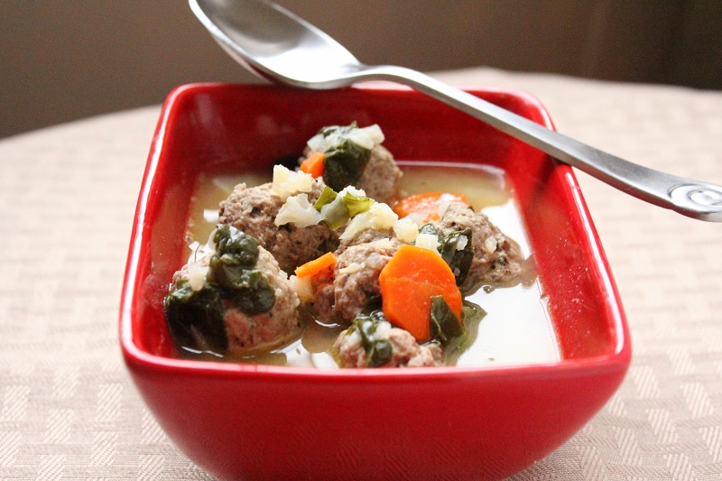 Italian Wedding Soup (Low Carb and Gluten Free) - Holistically ...