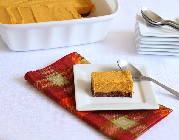 Low Carb Pumpkin Bars (Gluten Free and Dairy Free) - Holistically Engineered