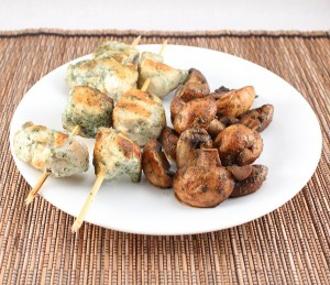 Whole30-Day 13 and Ranch Chicken Skewers