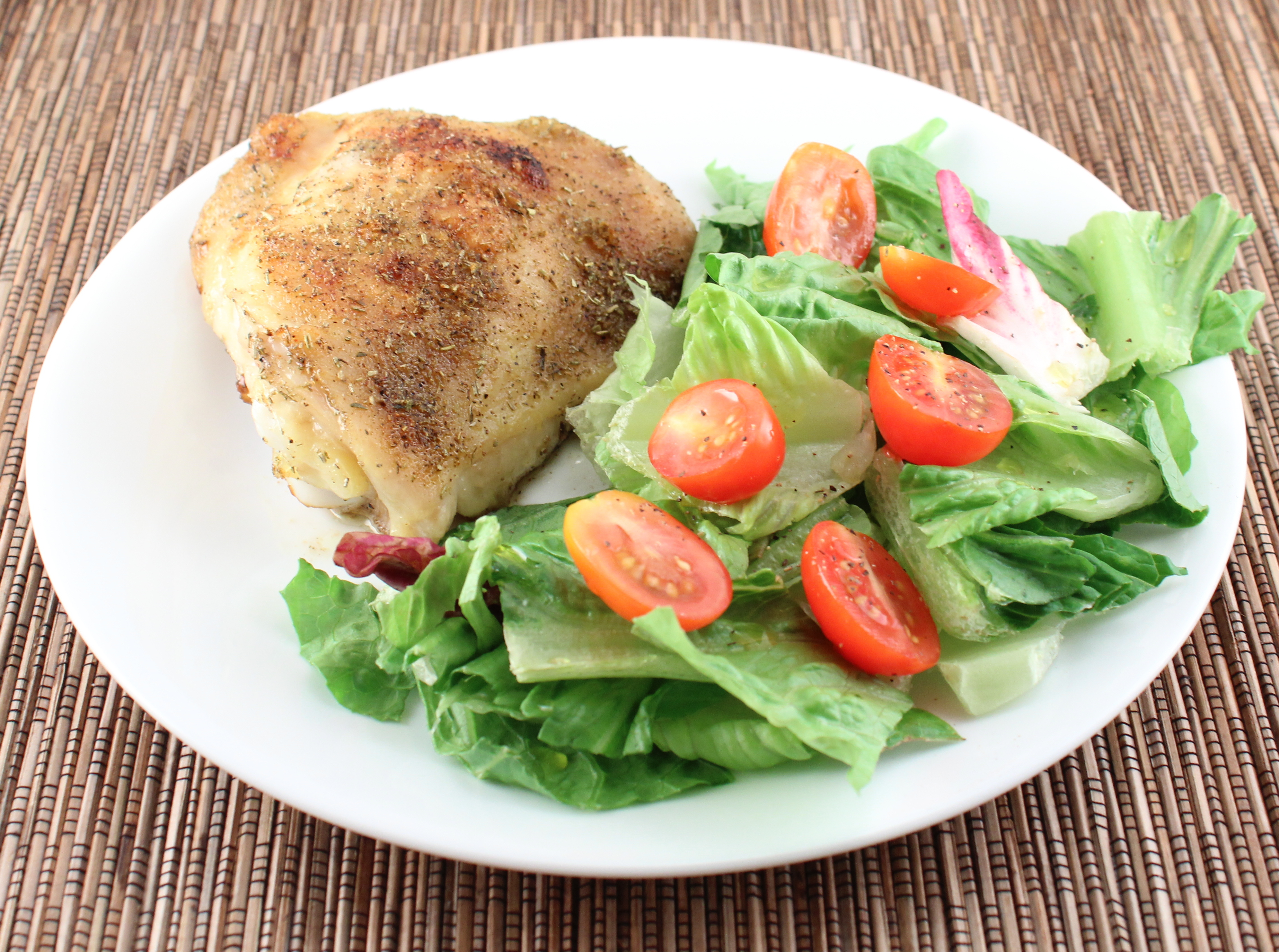 Whole30-Day 1 and Roasted Chicken Thighs - Holistically Engineered