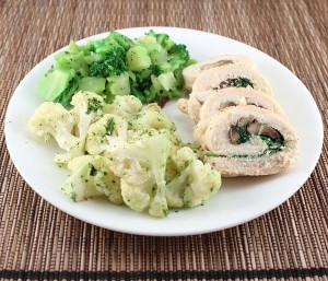 Whole30-Day 8 and Spinach and Mushroom Chicken Roulade