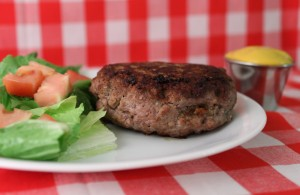 Low Carb Bacon and Cheese Stuffed Hamburgers
