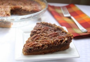 Low Carb Thanksgiving: Pecan Pie (Gluten Free)