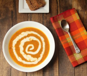 Paleo Roasted Carrot and Mushroom Soup a Guest Post for Homemade Mommy