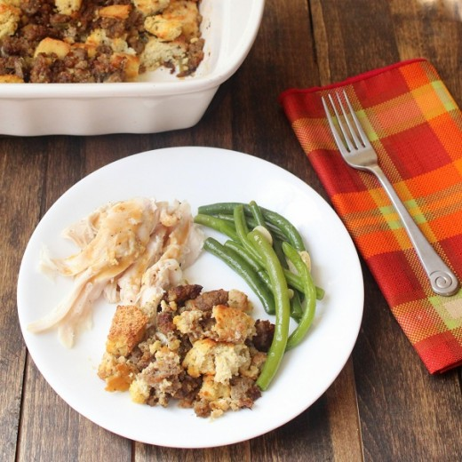 Low Carb Thanksgiving: Stuffing (Gluten Free and Paleo)