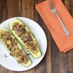 low carb beef zucchini caulflower