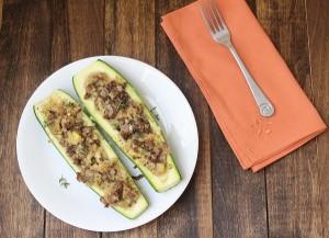 low carb beef zucchini caulflower