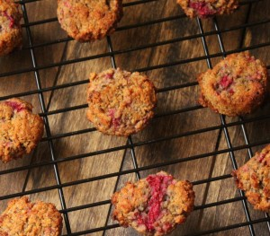 Raspberry Breakfast Cookies (Low Carb and Paleo Friendly)