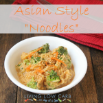 Asian Style Noodles