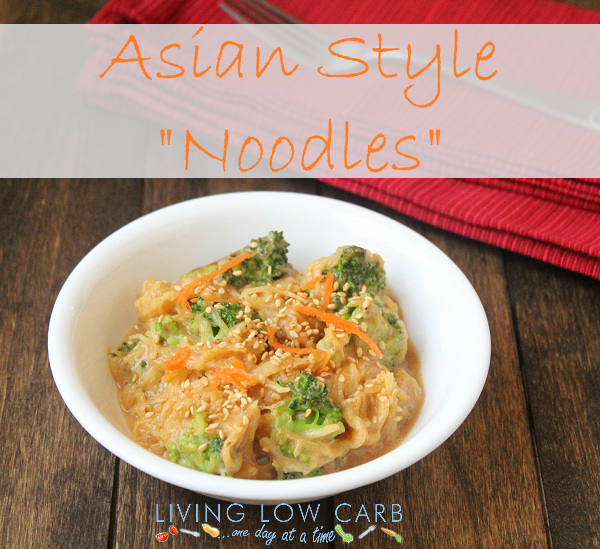 """Asian Style """"Noodles"""" (Low Carb and Paleo) - Holistically Engineered"""