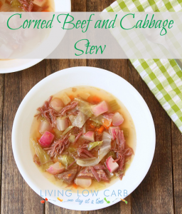 Corned Beef and Cabbage Stew (Low Carb and Paleo)