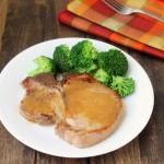 java rubbed pork chops