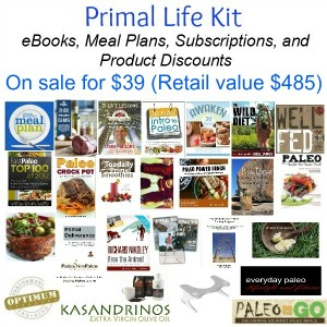 Primal Life Kit Sale (Low Carb & Paleo eBooks and Product Discounts)