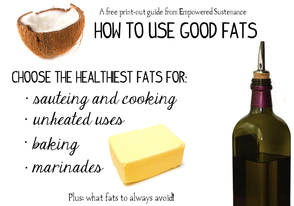 use-good-fats-print-out-guide