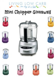 Mini Chopper/Food Processor Giveaway