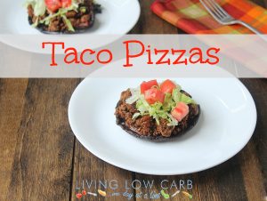 Taco Pizzas (Low Carb and Paleo)