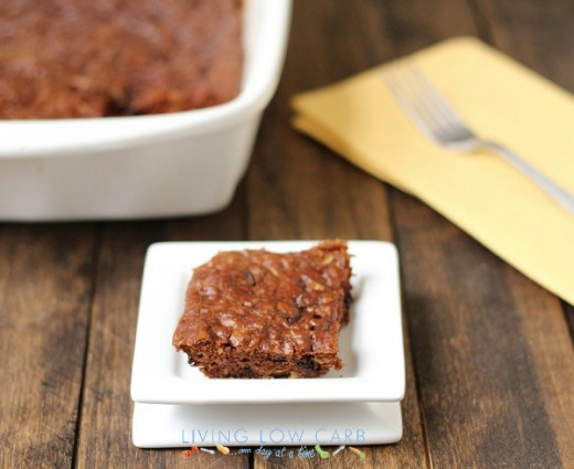 Flourless Paleo Brownies with a Special Ingredient (Low Carb)