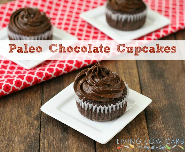 Paleo Chocolate Cupcakes with Coconut Cream Filling (Low Carb and ...