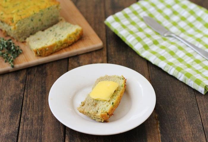 savory zucchini bread 1