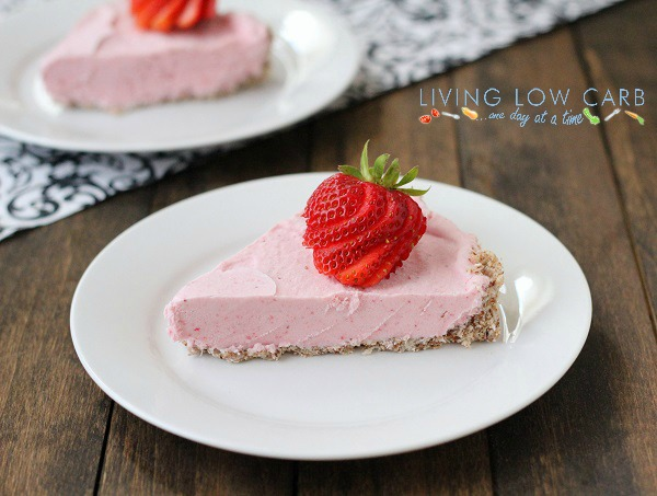 Strawberry Ice Cream Pie - Holistically Engineered