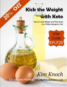 Book Review:  Kick the Weight with Keto-How to Lose Weight & Feel Great on a Paleo Ketogenic Diet