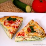 Bacon and Tomato Quiche with Zucchini Hash Crust Photo 1