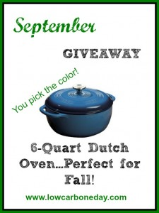 September Giveaway