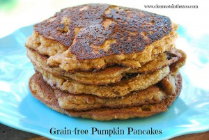 Pumpkin Pancakes a Guest Post by Clean Eats in the Zoo