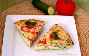 Bacon and Tomato Quiche a Guest Post by Beauty and the Foodie