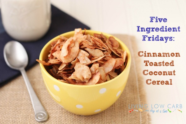 Five Ingredient Friday: Cinnamon Toasted Coconut Cereal - Holistically ...
