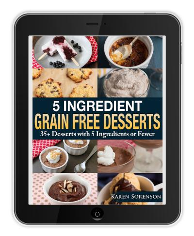 5 Ingredient Grain Free Desserts_400