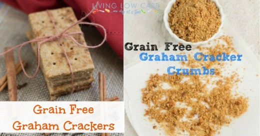 Grain Free Graham Crackers and Graham Cracker Crumbs