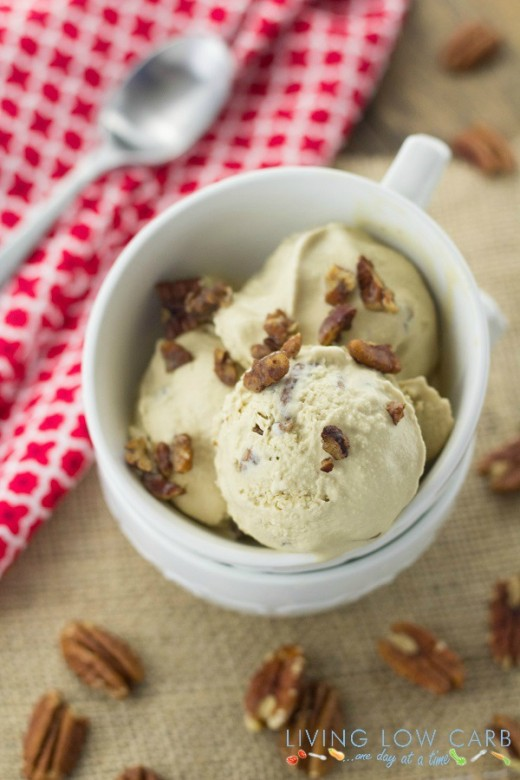 Pecan Pie Frozen Yogurt (Dairy Free)