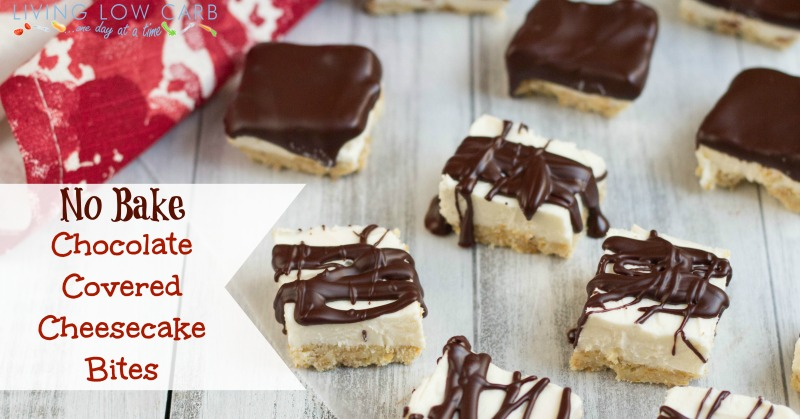 Chocolate-Covered Cheesecake Bites Recipes — Dishmaps