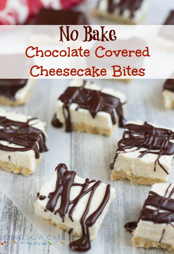 Chocolate Covered Cheesecake Bites - Holistically Engineered