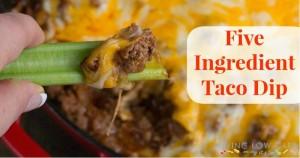 Five Ingredient Friday: Taco Dip