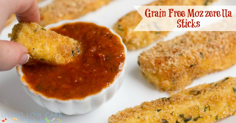 Grain Free Mozzarella Sticks_FBf