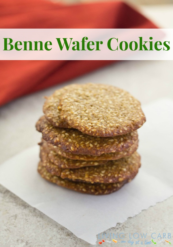 Grain Free Seasame Cookies_Benne Wafers_f