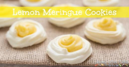 Lemon Meringue Cookies - Holistically Engineered