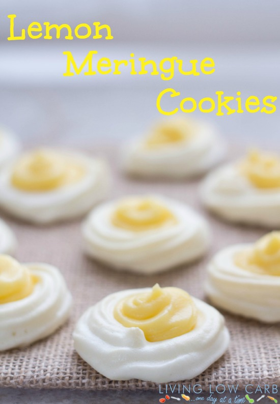 Lemon Meringue Cookies #grainfree #paleo