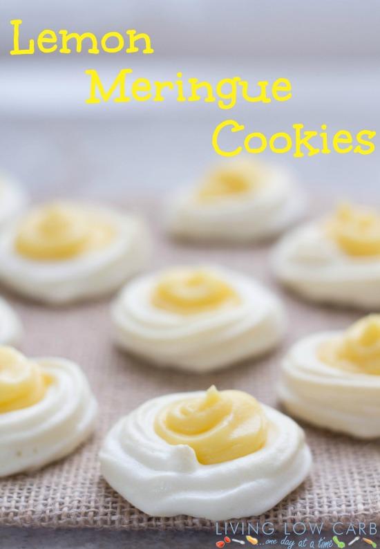 Lemon Meringue Cookies #grainfree #paleo