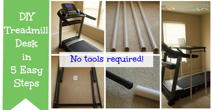 How to Make a DIY Treadmill Desk in 5 Easy Steps - Holistically ...