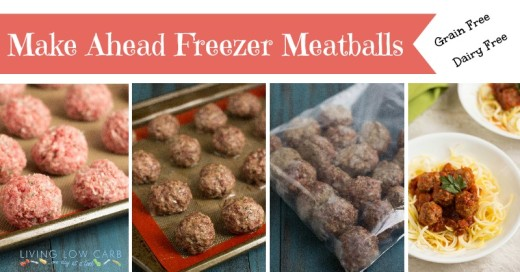Make Ahead Freezer Meatballs